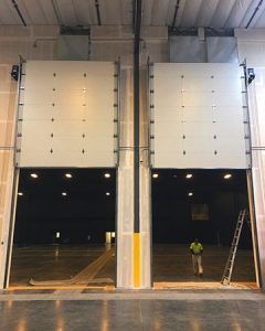 Vertical Lift Garage Doors